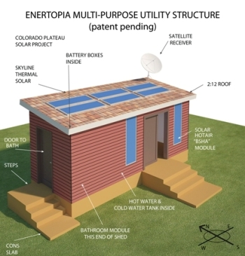 Illustration of Multi-Purpose Utility Structure for Plateau Project