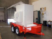 Trailer mounted purification system